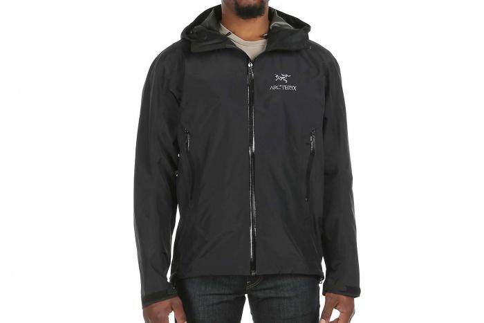 arcteryx rain jacket