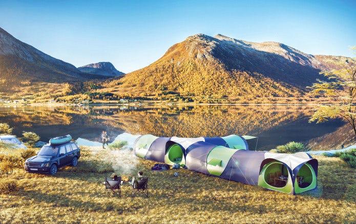 cinch tent community