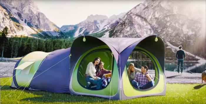 cinch tent hub