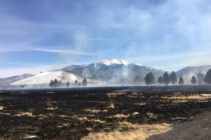 Drone Crash Ignites Wildfire in Coconino National Forest