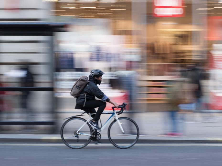 commuter cyclist city