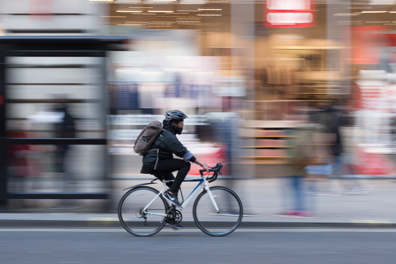 commuter cyclist city