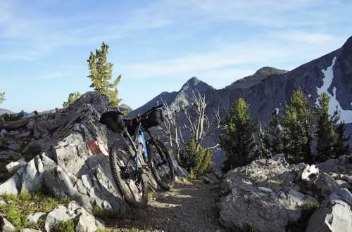continental divde trail by bike CDT