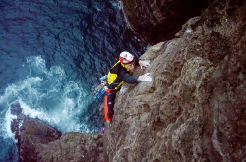 faroe islands climbing