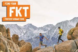 """Merrell Hiking Contest """"Find Your FKT"""""""