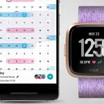 fitbit versa menstrual tracking app