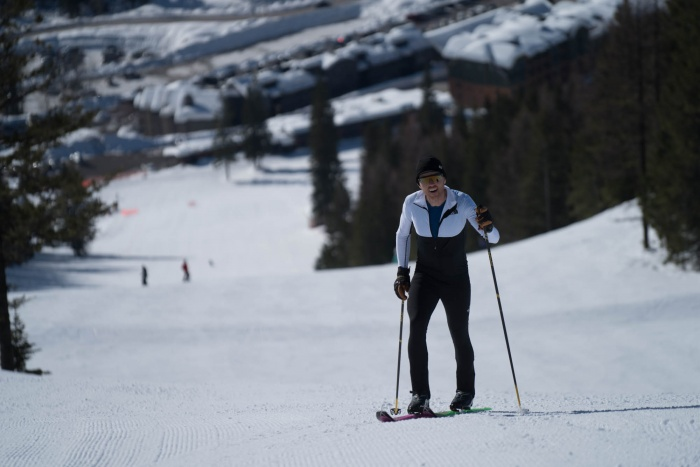 Mike Foote Breaks Ski record 24 hours 61,200 feet