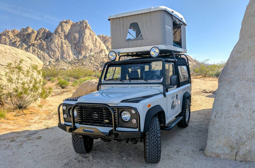 land rover overland rental
