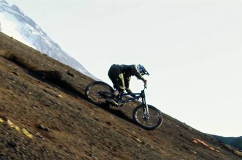 mountain biking volcanoes
