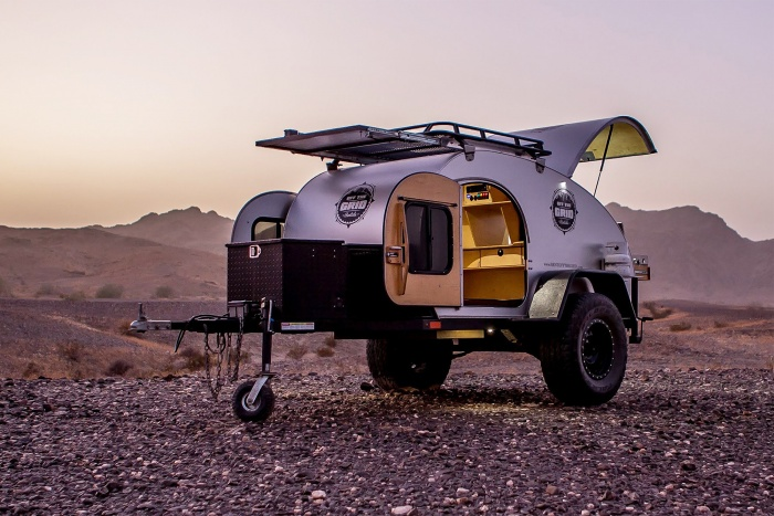 off the grid adventure trailer rental