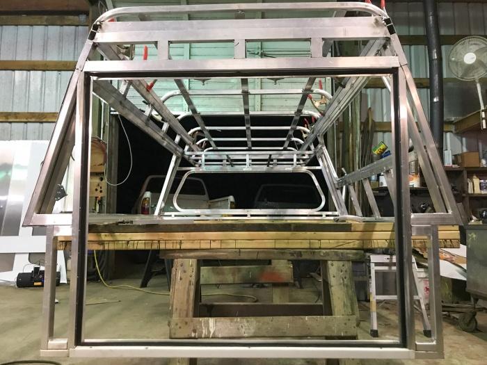 truck topper custom