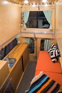 finished pop up camper