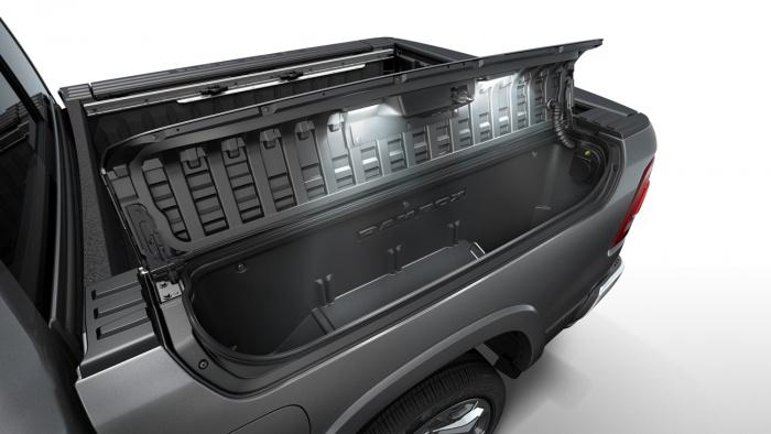 2019 dodge ram truck bins