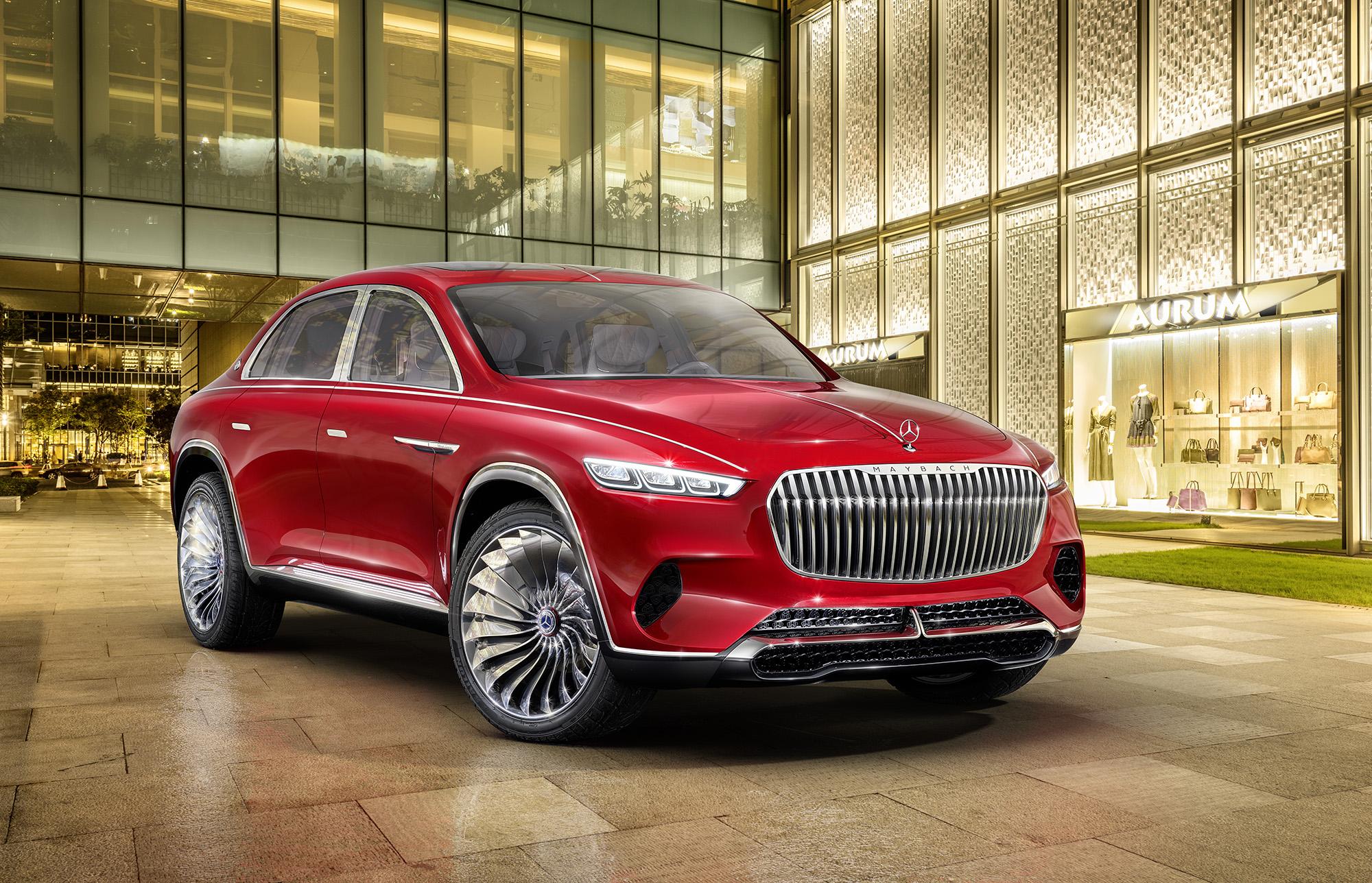 Luxury Car Vision >> Mercedes Ultimate Luxury Suv Includes Actual Tea Set Gearjunkie