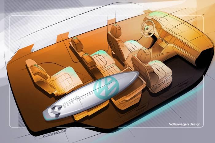 2018 vw atlas cargo graphic