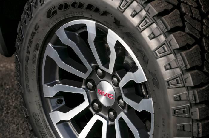 2019 gmc sierra at4 tires