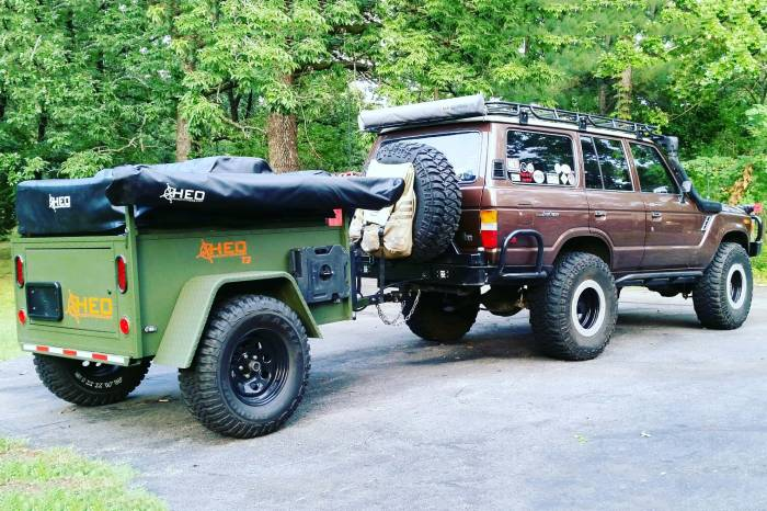 HEO T3 Adventure off-road trailer