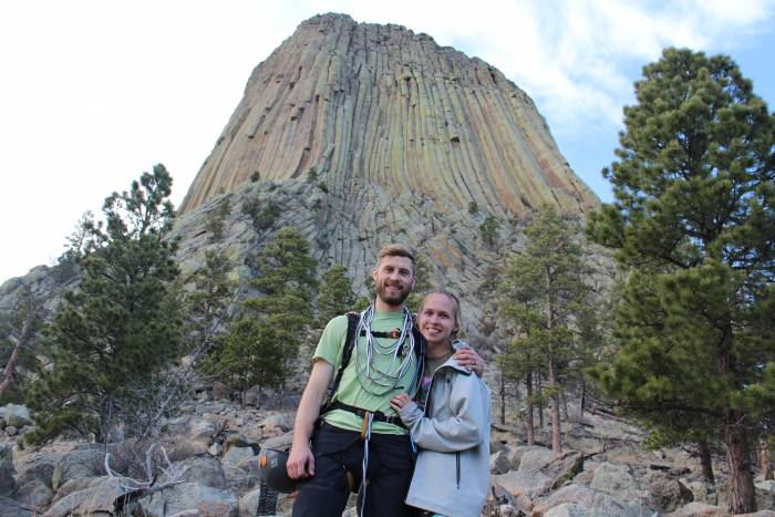 devils tower road trip