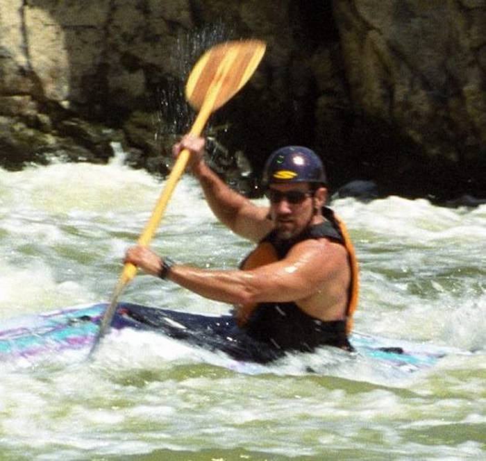 Kayak instructor