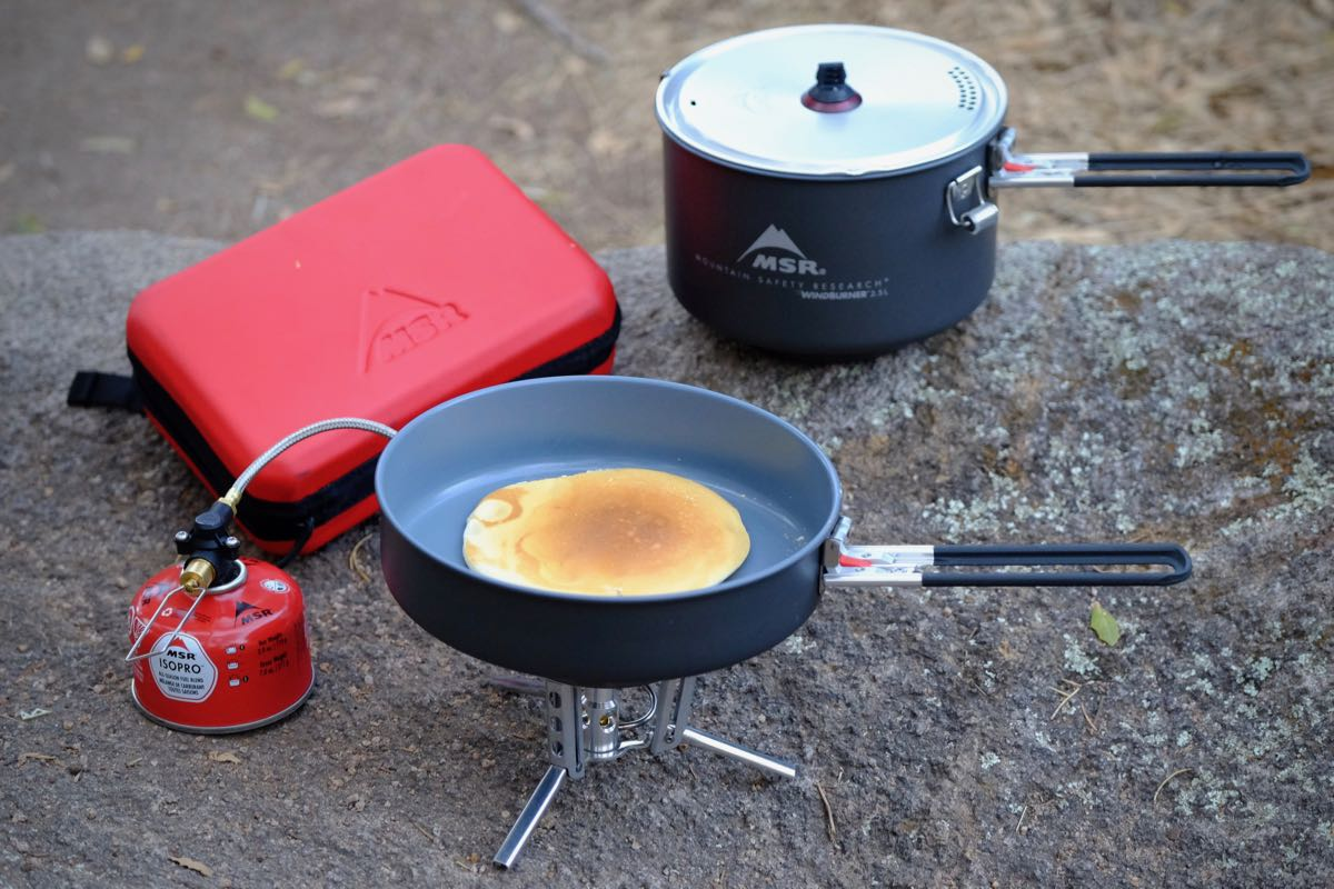 Msr Windburner Review Fuel Sipping Stove Gearjunkie