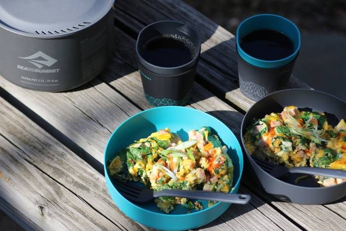 Sea to Summit Backcountry Gourmet: Frittata Recipe