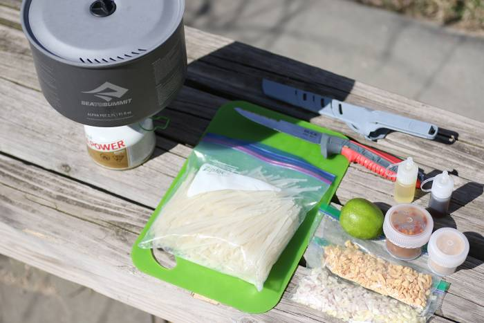 Sea to Summit Backcountry Gourmet: Pad Thai Recipe