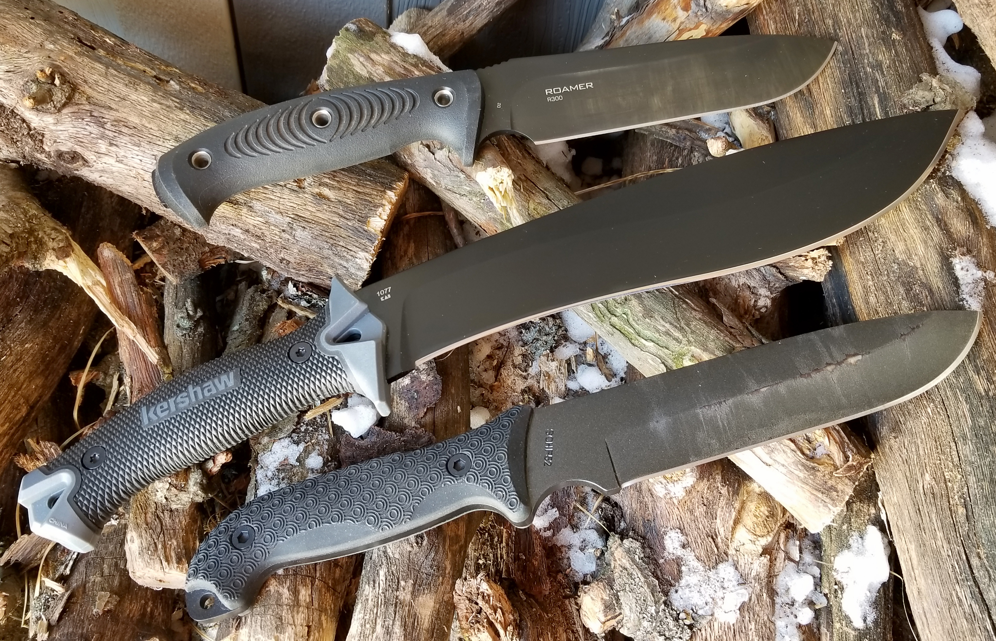 Big Knives on a Budget: 3 'Choppers' Tested | GearJunkie