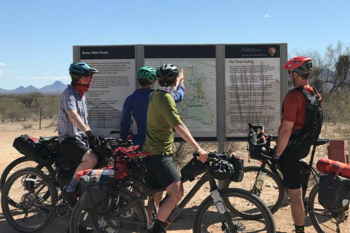 bikepackers map navigation