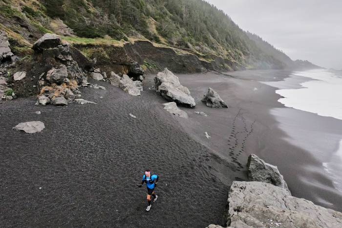 dylan bowman running lost coast trail