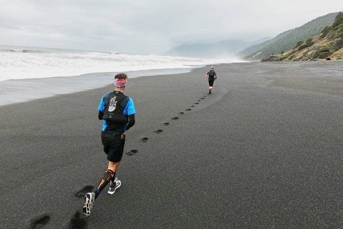 dylan bowman rickey gates running lost coast trail
