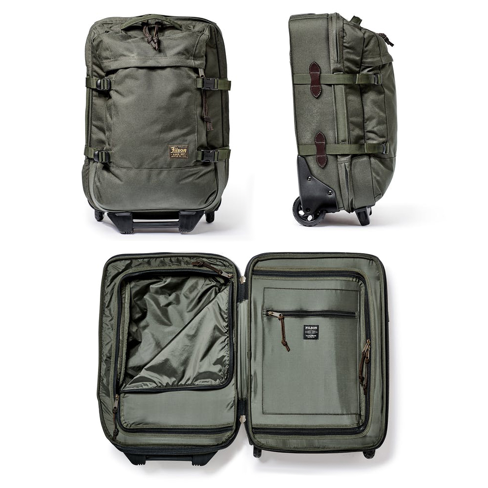 Filson Dryden 2-Wheel Carry-On Suitcase