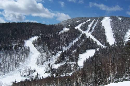 gore mountain ski run