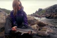 Watch: Epic Greenland Fly Fishing With One Rad Mom