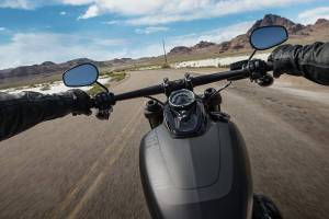 Ride around the country on a Harley-Davidson