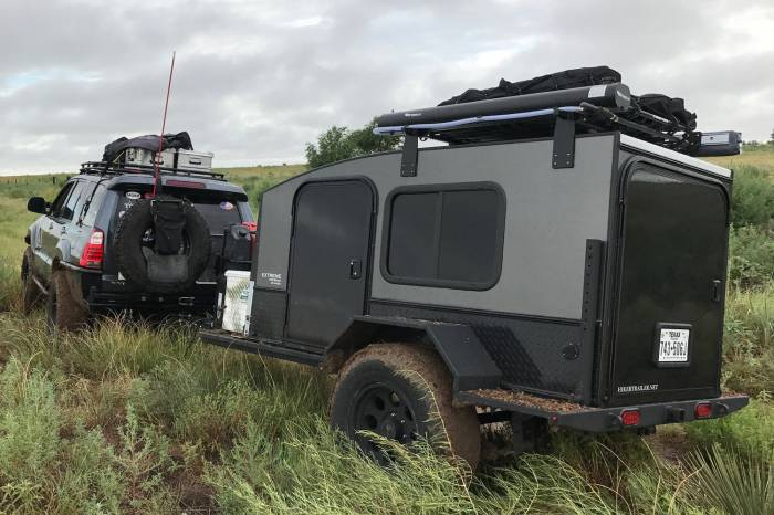 Hiker Trailers Extreme off-road trailer
