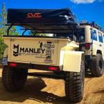 Manley ORV off-road trailer