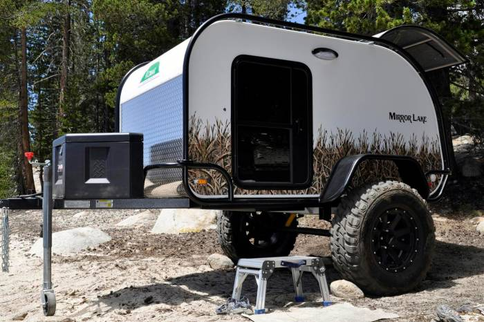 Mirror Lake Base Camp off-road teardrop trailer