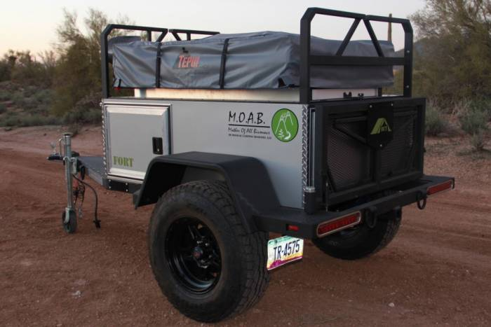 Moab Fort off-road trailer