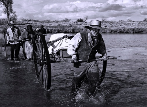 mormon handcart river crossing
