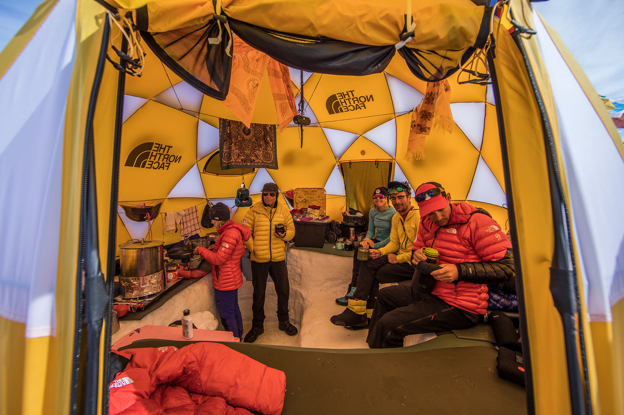 Floorless Dome Tent. expedition antarctica the north face & Dream Team Gear: TNF Kit Designed for Antarctic Climbing | GearJunkie