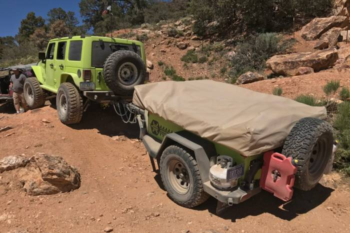 Turtleback Aventure off-road trailer