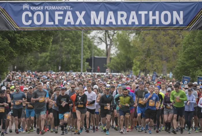 Colfax Marathon in Denver