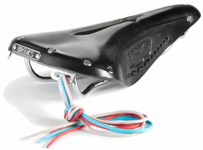 Brooks bike saddle