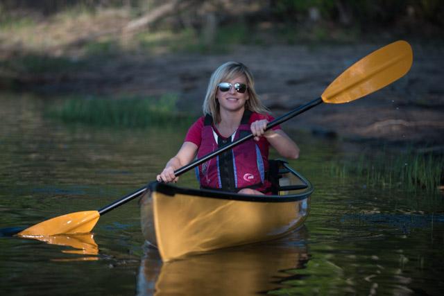 Wenonah Wee Lassie canoe