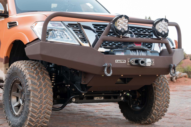 Burly Nissan: Armada 'Mountain Patrol' Hits Overland Expo ...
