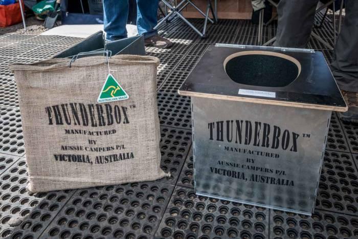 Thunderbox overland toilet
