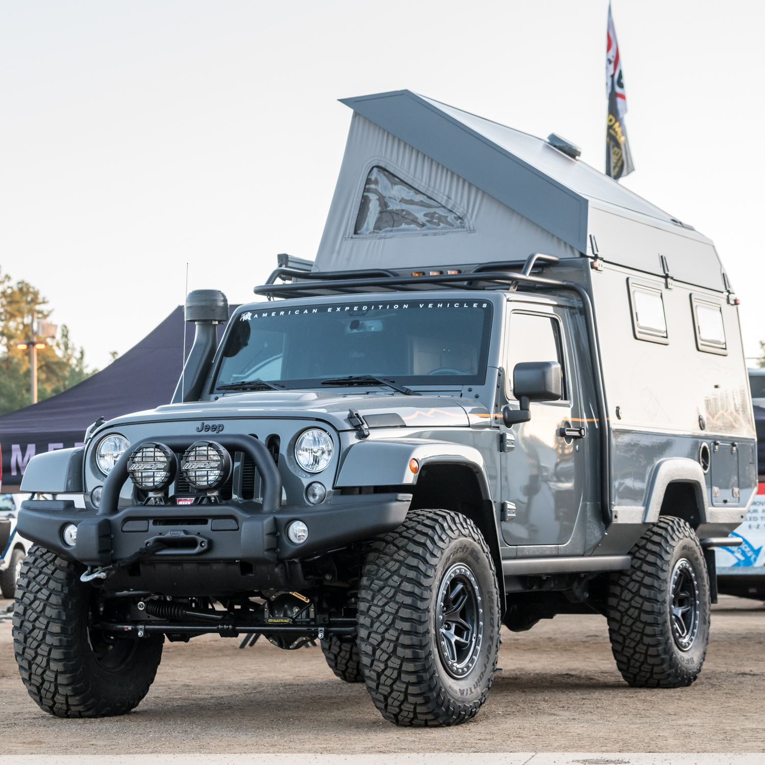 American Expedition Vehicles Jeep JKU Outpost II