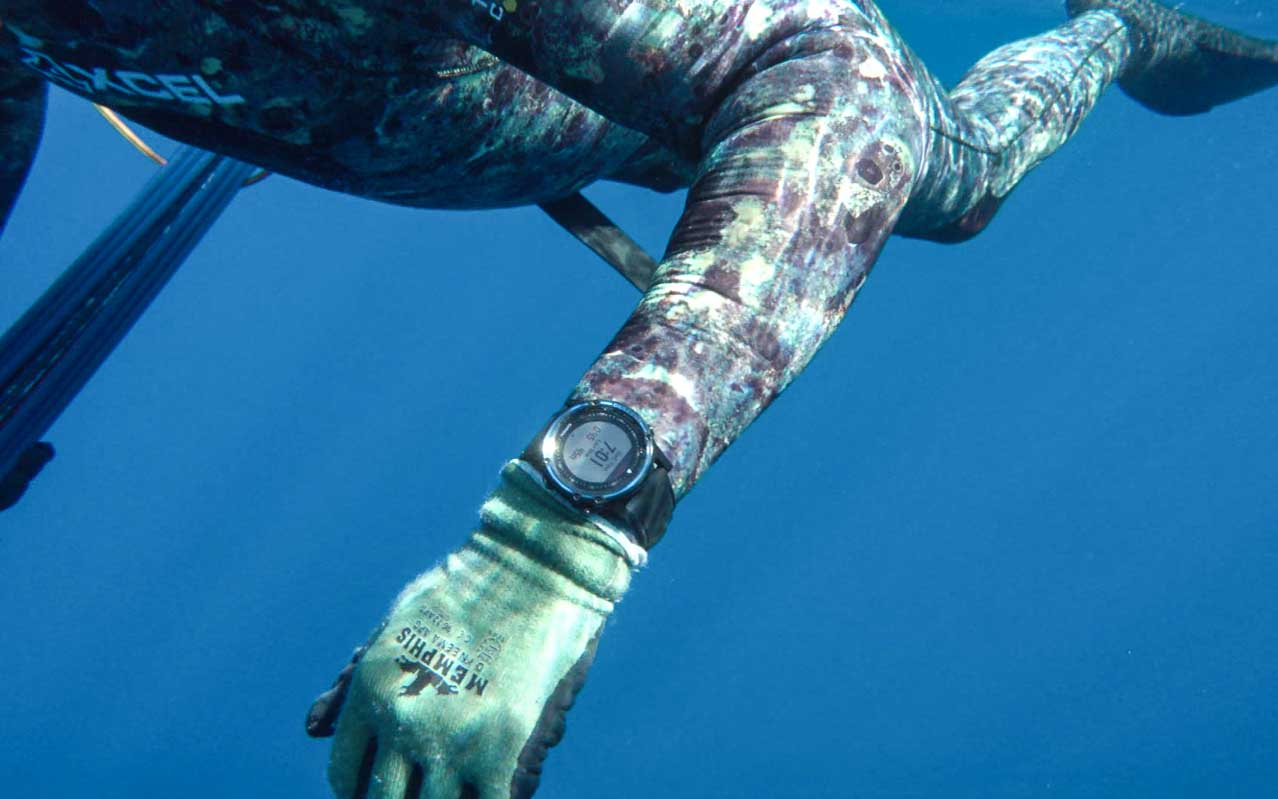 The Garmin Descent Mk1 Is Perfect for Spearfishing: Here's