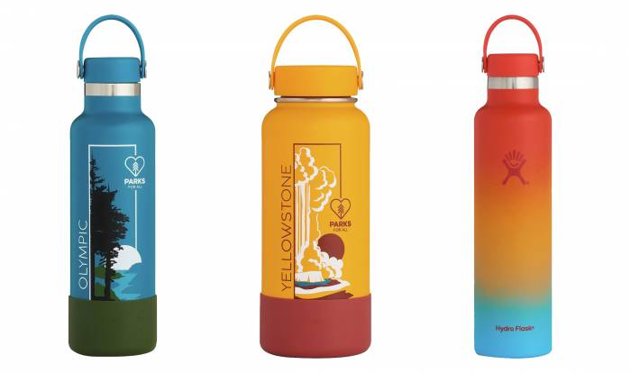 Hydro Flask National Parks Foundation and Shave Ice Bottles