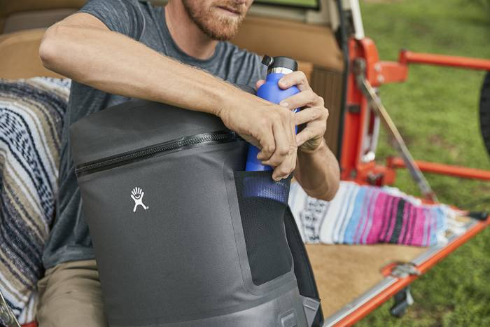 hydro flask cooler side pocket